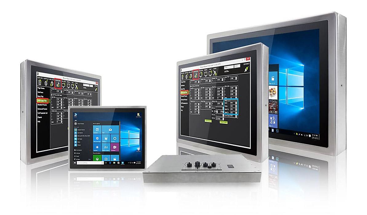 Winmate představil novou řadu IP69K nerezových panelových počítačů a displejů