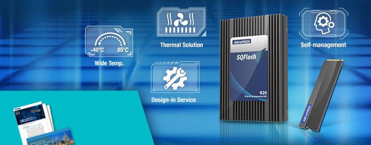 Teplotně odolné velkokapacitní SSD řady SQFlash 920