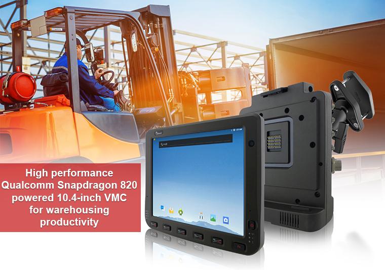FM10Q – odolný VZV terminál s Qualcomm Snapdragon CPU